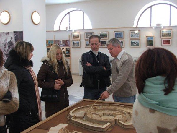 Археолог, профессор Геннадий Зданович